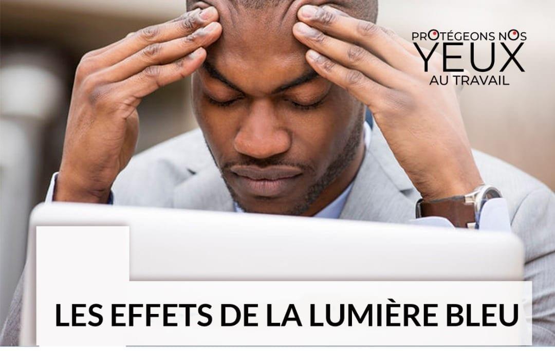 Read more about the article LES EFFETS DE LA LUMIÈRE BLEU