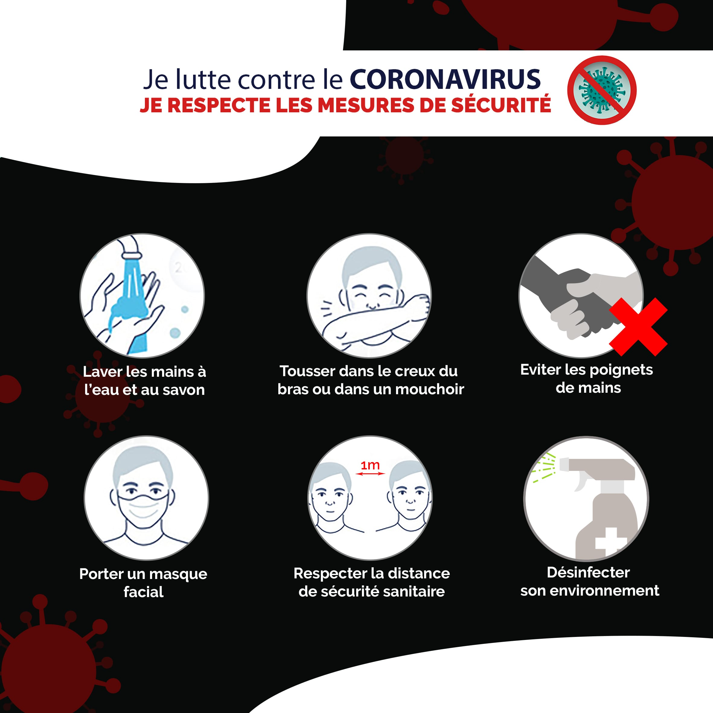 Read more about the article LA BATAILLE CONTRE LE CORONAVIRUS